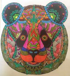kleurplaat pandabeer