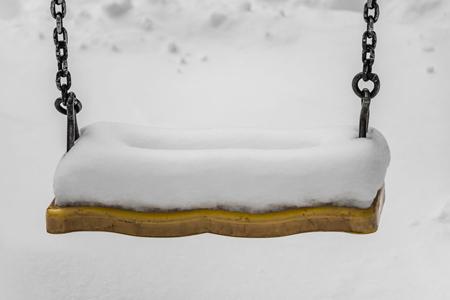 sneeuwschommel
